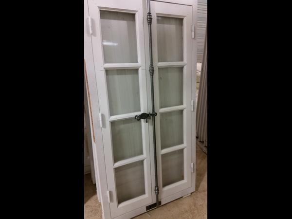 Fenêtre fermeture espagnolette